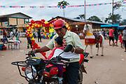 Daily life in Boca Colorado, Peru. Boca Colorado is a town formed entirely by mining activity in the Peruvian Amazon.