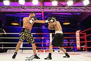 """Boxen: Universum Fightnight, Cruisergewicht, Hamburg, 14.11.2020<br /> """"Big"""" Edi Kadrija (GER) - Michael Klempert (GER)<br /> © Torsten Helmke"""
