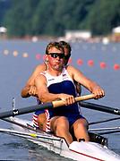 Atlanta, USA. GBR M2-, Gold Medalist, Bow Steve REDGRAVE and Matthew PINSENT, 1996 Olympic Rowing Regatta Lake Lanier, Georgia [Mandatory Credit Peter Spurrier/ Intersport Images]