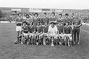 The Wexford team before the All Ireland Senior Hurling Final, Cork v Wexford in Croke Park on the 5th September 1976. Cork 2-21, Wexford 4-11.