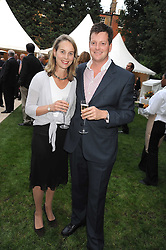 WILLIAM & LAURA SITWELL at the Goring Hotel Summer party, Goring Hotel, 15 Beeston Place, London on 17th September 2008.