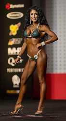 Sept.16, 2016 - Las Vegas, Nevada, U.S. -  MICHELLE SYLVIA competes in the Bikini Olympia contest during Joe Weider's Olympia Fitness and Performance Weekend.(Credit Image: © Brian Cahn via ZUMA Wire)