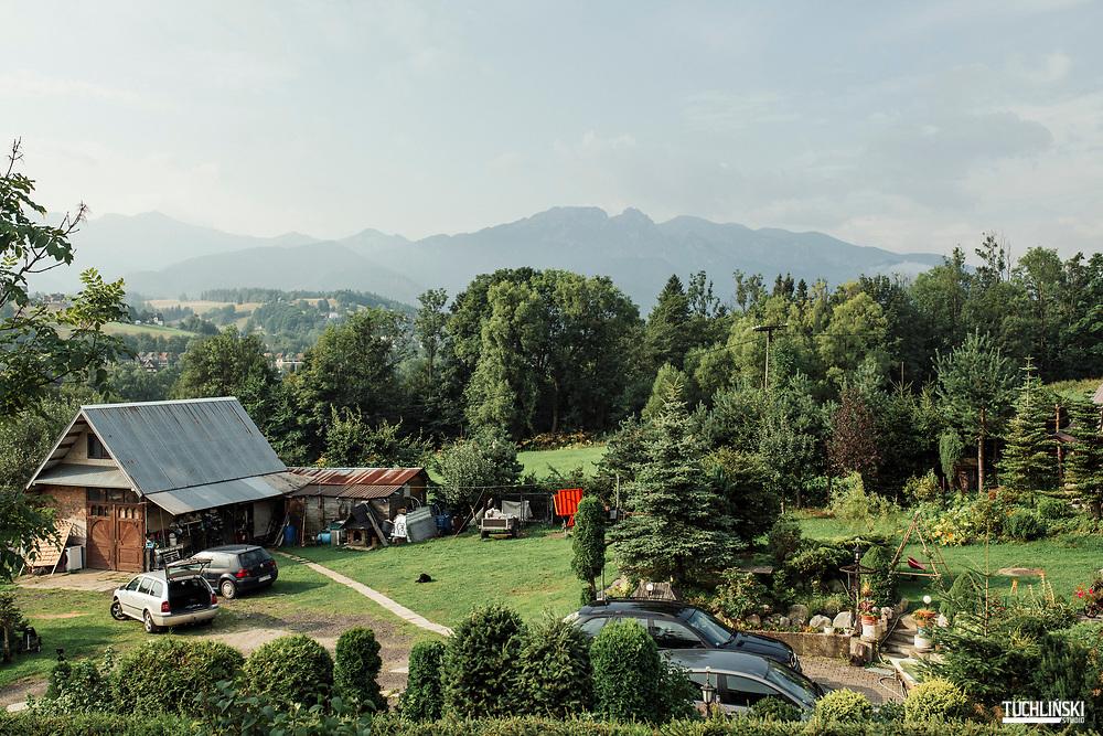 Zakopane, Polska. 21.08.2019 <br /> Tatry. Widok na góry, Giewont.<br /> Fot. Adam Tuchlinski dla Newsweek Polska