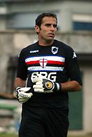 Trento 4/8/2004 Amichevole - Friendly match Fiorentina Sampdoria 3-2 <br /> <br /> Nella foto: <br /> Francesco Antonioli Sampdoria<br /> Photo Jay / Graffiti