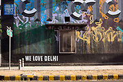 Street art in the Lodhi Colony area of New Delhi designated Indias first ever public art district.