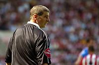 Fotball<br /> Foto: SBI/Digitalsport<br /> NORWAY ONLY<br /> <br /> Southampton v Blackburn Rovers<br /> <br /> FA Barclays Premiership. 21/08/2004.<br /> <br /> Referee, Andy D'Urso
