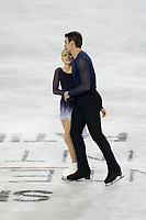 KELOWNA, BC - OCTOBER 26:  Alexa Scimeca Knierim and Chris Knierim of the United States compete in pairs free skate during Skate Canada International at Prospera Place on October 25, 2019 in Kelowna, Canada. (Photo by Marissa Baecker/Shoot the Breeze)