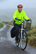 Cycling in the fog between Elton and Youlgrave
