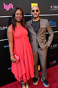 April 8, 2019-New York, New York-United States: (L-R) Curator Nicke Vassell and Music Producer/Art Collector SwizzBeatz aka Kaseem Dean attend the Bronx Museum Gala & Art Auction 2019 held at Capitale on April 8, 2019 in New York City. The Bronx Museum of the Arts is a contemporary art museum that connects diverse audiences to the urban experience through its permanent collection, special exhibitions, and education programs that strive to reflect the borough's dynamic communities. (Photo by Terrence Jennings/terrencejennings.com)