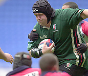 Reading, Berkshire, 10th May 2003,  [Mandatory Credit; Peter Spurrier/Intersport Images], Zurich Premiership Rugby, Rob Hardwick,
