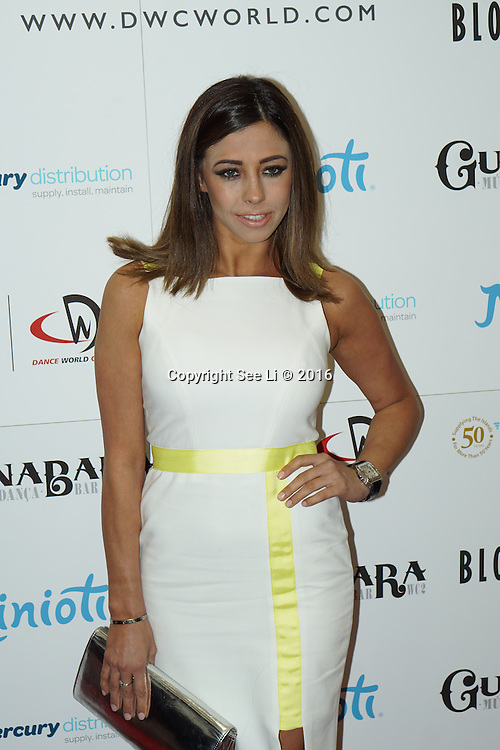 London,England,UK : 28th April 2016 : Pascal Craymer attend the Kimberly Wyatt launches the 2016 annual BLOCH Dance World Cup at BLOCH, 35 Drury Lane, Covent Garden, London. Photo by See Li