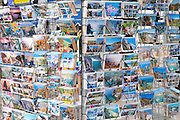Postcard rack