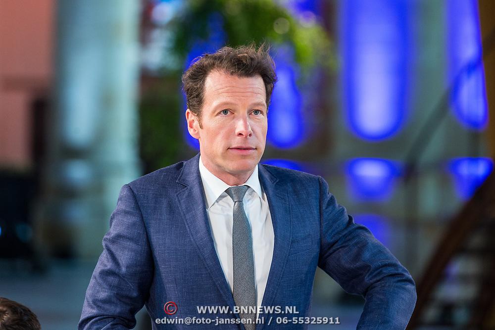 NLD/Den Haag/20180323 - Huldiging Olympische en Paralympische medaillewinnaars, Herman van der Zandt
