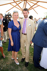 COUNT & COUNTESS MANFREDIE DELLA GHERARDESCA at the Cartier International Polo at Guards Polo Club, Windsor Great Park on 27th July 2008.<br /> <br /> NON EXCLUSIVE - WORLD RIGHTS