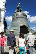 The Great Tsar's Bell, Kremlin, Moscow, Russia