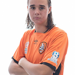 BRISBANE, AUSTRALIA - MARCH 17: Aaron Reardon poses for a photo during the Brisbane Roar Youth headshot session at QUT Kelvin Grove on March 17, 2017 in Brisbane, Australia. (Photo by Patrick Kearney/Brisbane Roar)