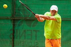 Gasper Bolhar, Drzavno prvenstvo novinarjev v tenisu 2019, on June 12, 2019 in Tivoli, Ljubljana, Slovenia. Photo by Vid Ponikvar / Sportida