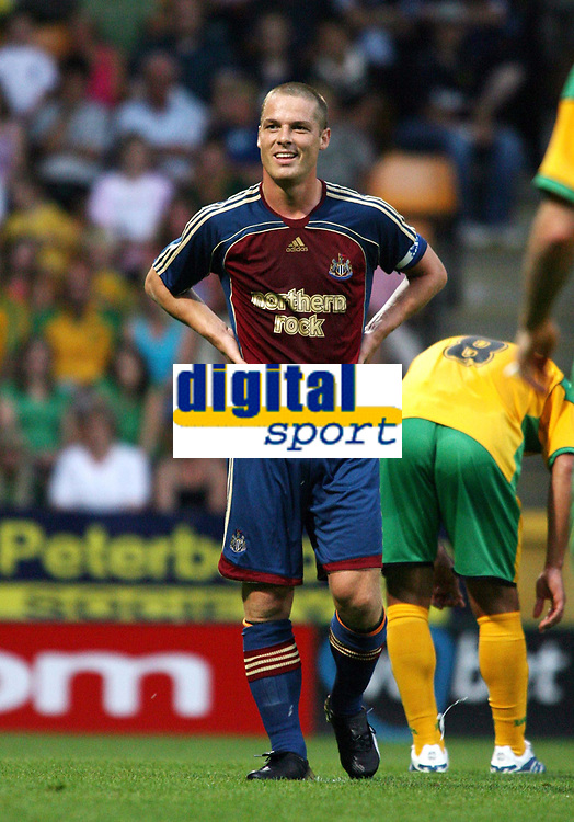 Photo: Chris Ratcliffe.<br /> Norwich City v Newcastle United. Pre Season Friendly. 26/07/2006.<br /> Scott Parker of Newcastle.