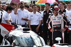 June 11, 2018 - Le Mans, FRANCE - 8 TOYOTA GAZOO RACING (JPN) TOYOTA TS050 FERNANDO ALONSO  (Credit Image: © Panoramic via ZUMA Press)