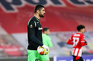 Goalkeeper Fabiano of Omonia Nicosia during the UEFA Europa League, Group E football match between PSV and Omonia Nicosia on December 10, 2020 at Philips Stadion in Eindhoven, Netherlands - Photo Perry vd Leuvert / Orange Pictures / ProSportsImages / DPPI
