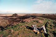Nederland, Limburg, 30-10-2001In het Duitse Laarbruch wil men een voormalige Engelse vliegbasis omvormen tot burgervliegveld.Het Noord-Limburgse Bergen en omgeving, en het natuurgebied de Hamert komen in de aanvliegroute te liggen.Geluidsoverlast, milieu, grensoverschrijdende kwesties.recreatieFoto: Flip Franssen/Hollandse Hoogte