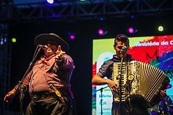 Grupo Som Gaucho se apresenta na 41a Expointer realizada em Esteio, Rio Grande do Sul. FOTO: Gustavo Granata/ Agência Preview
