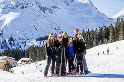 On Monday morning, February 25, 2019, a photo session will take place in Lech, Austria with His Majesty King Willem-Alexander, Her Majesty Queen Máxima and Their Royal Highnesses Princess Catharina-Amalia, Princess Alexia and Princess Ariane. Their Royal Highnesses Princess Beatrix, Prince Constantijn and Princess Laurentien and their children Countess Eloise, Count Claus-Casimir and countess Leonore, also take part in the photo session. Photo by Robin Utrecht/ABACAPRESS.COM