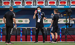 NICE, FRANCE - Wednesday, June 2, 2021: Wales' Doctor Rhodri Martin during an international friendly match between France and Wales at the Stade Allianz Riviera ahead of the UEFA Euro 2020 tournament. (Pic by Simone Arveda/Propaganda)