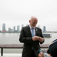 Peter Thomson, President of the 71st session of the General Assembly is interviewed by WWF during The Ocean Conference at the UN on June 05, 2017.