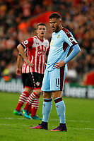 Football - 2016 / 2017 Premier League - Southampton vs. Burnley<br /> <br /> Michael Kightly of Burnley at St Mary's Stadium Southampton <br /> <br /> Colorsport/Shaun Boggust