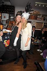Left to right, LAURIE PERCEPIED and ZOE GRAHAM at a party for Glenmorangie hosted at Barts,  Sloane Avenue, London on 26th March 2009.