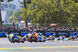 May 20, 2018 - Le Mans, France - 44 MIGUEL OLIVEIRA (POR) RED BULL KTM AJO (FIN) KTM MOTO2 (Credit Image: © Panoramic via ZUMA Press)