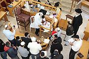 Circumcision - Brit Mila Ceremony in a synagogue