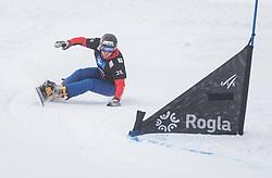 Stefaner Johann during the FIS snowboarding world cup race in Rogla (SI / SLO) | GS on January 20, 2018, in Jasna Ski slope, Rogla, Slovenia. Photo by Urban Meglic / Sportida