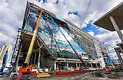 the theatre, darling harbour live, sydney. architects: hassell + populous. builder: lend lease.