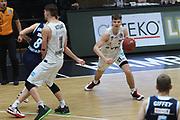 Basketball: Deutschland, 1. Bundesliga, Hamburg Towers -  Alba Berlin, Hamburg, 23.03.2021<br /> Justus Hollatz (Towers, r.)<br /> © Torsten Helmke