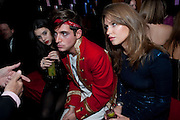 GALA GORDON; RICHARD DENNEN; POLLY MEYER; , The Tatler Little Black Book party. Chinawhite club. London. 21 November 2009