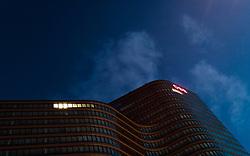 THEMENBILD - ÖBB Gebäude am Hauptbahnhof Wien, aufgenommen am 03. Juli 2017, Wien, Österreich // ÖBB building at Vienna main station, Vienna, Austria on 2017/07/03. EXPA Pictures © 2017, PhotoCredit: EXPA/ JFK