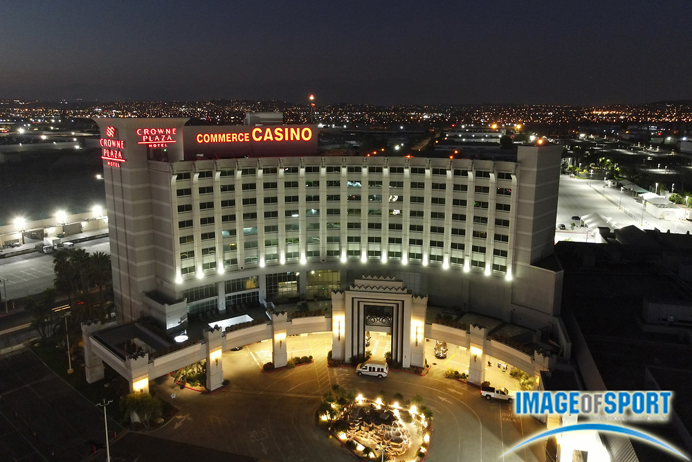 A general view of the Commerce Casino, Friday, Sept. 25, 2020, in Commerce, Calif.