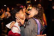 20210924  /URUGUAY / MONTEVIDEO / Marcha por la Diversidad, desde Paysandú y Libertador hasta la Plaza Mártires de Chicago.<br /> <br /> En la foto: Marcha por la Diversidad. Foto: Santiago Mazzarovich / adhocFOTOS