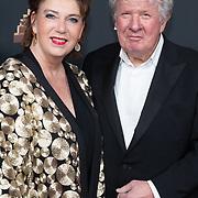 NLD/Amsterdam/20200122 - Musical Award Gala 2020, Willibrord Frequin en partner Gesina Lodewijkxs