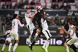 October 28, 2018 - Bordeaux, France - Lukas Lerager (gir) vs Mario Balotelli  (Credit Image: © Panoramic via ZUMA Press)