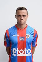 Gliwice 05.08.2016<br /> Pilka nozna. Lotto Ekstraklasa. Sesja.<br /> n/z. Michal Maslowski .