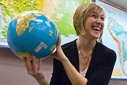 Jacqueline Karsten a MSU geography student loves cartography and has recieved the chance to go to Washington D.C. to do an internship at National Geographic