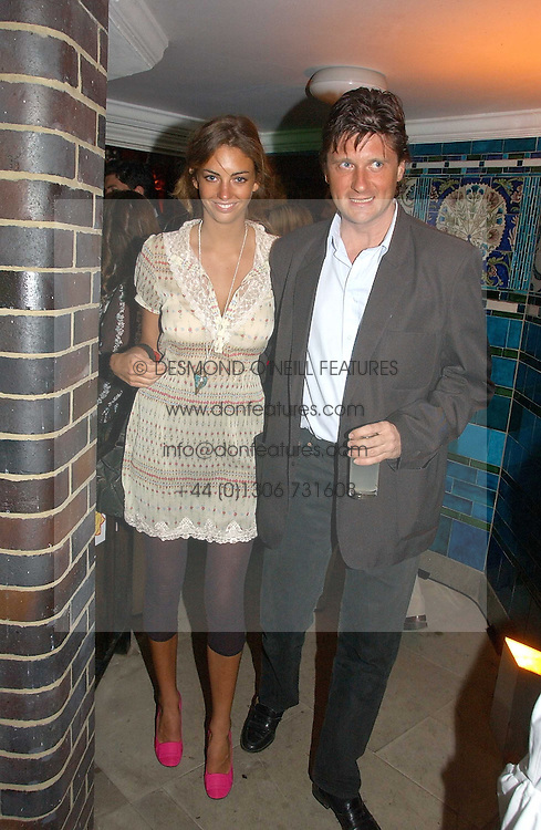 ROSE HANBURY and LORD JOHNSTON SOMERSET at the Quintessentially Summer Party held at Debenham House, 8 Addison Road, London W14 on 15th June 2006.<br /><br />NON EXCLUSIVE - WORLD RIGHTS