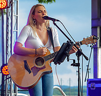 Singer and Songwriter Olivia Farabaugh performs at the 03rd Annual Labor Day Kipona Festival and Powwow Harrisburg, PA.
