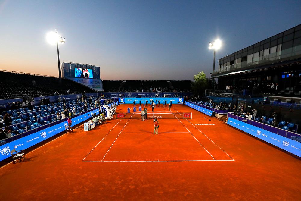 Tennis-ATP Serbia Open Belgrade 2021- <br /> finals<br /> Aslan Karatsev (RUS) v Matteo Berrettini (ITA)<br /> Beograd, 25.04.2021.foto: Marko Djokovic/Starsportphoto ©