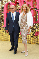 Rupert Murdoch, Jerry Hall, Absolutely Fabulous: The Movie - World Film Premiere,  Leicester Square, London UK, 29 June 2016, Photo by Richard Goldschmidt