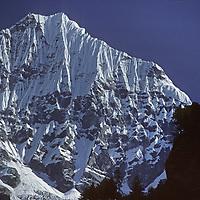 NEPAL, HIMALAYA. Mt. Kusum Kangri, Khumbu, Nepal.