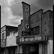 Abandoned RIG Theater in Premont. Photo by Nathan Lambrecht